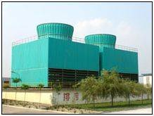 Square counterflow FRP cooling tower